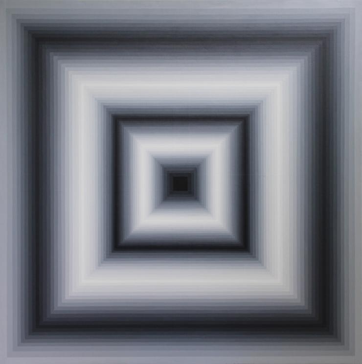 CL III - Acrylique sur toile 100X100 cm