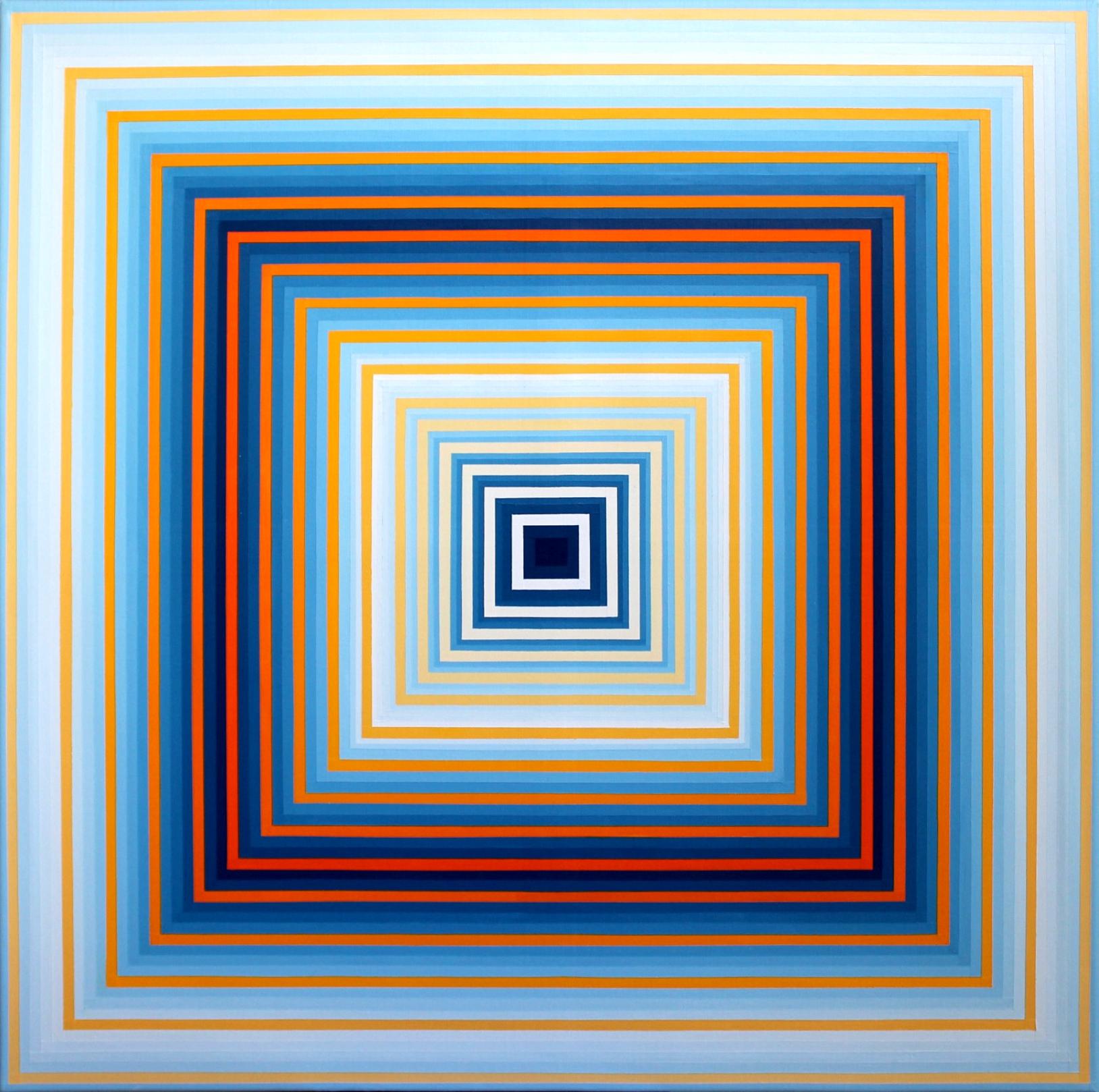CL IX - Acrylique sur toile 100X100 cm
