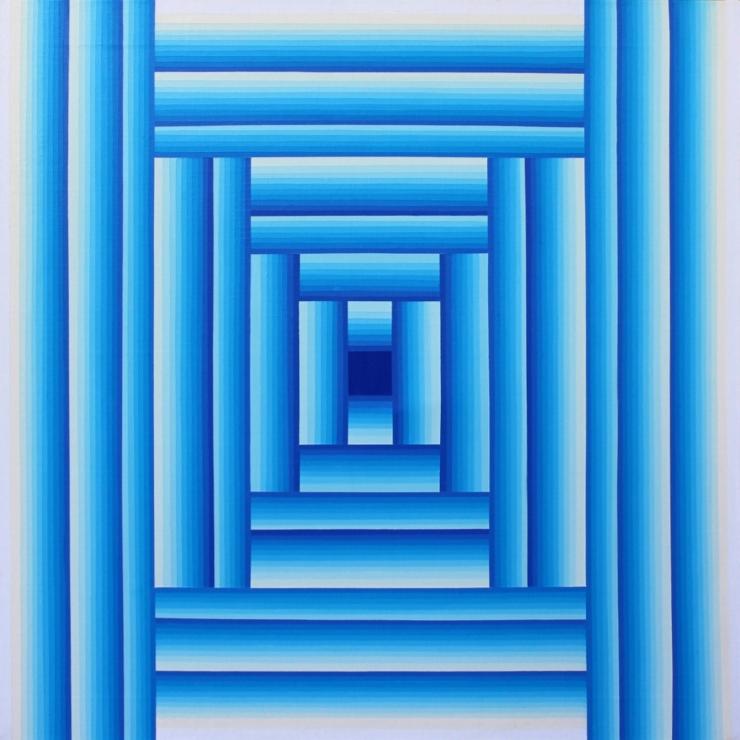 Sans Titre - Acrylique sur toile 70X70 cm
