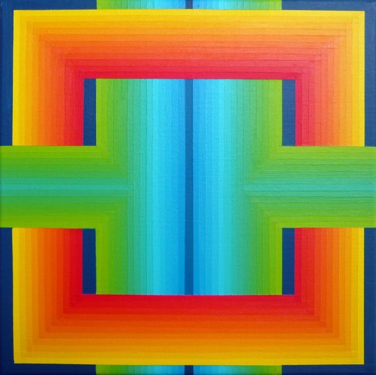 Sans Titre - Acrylique sur toile 30X30 cm