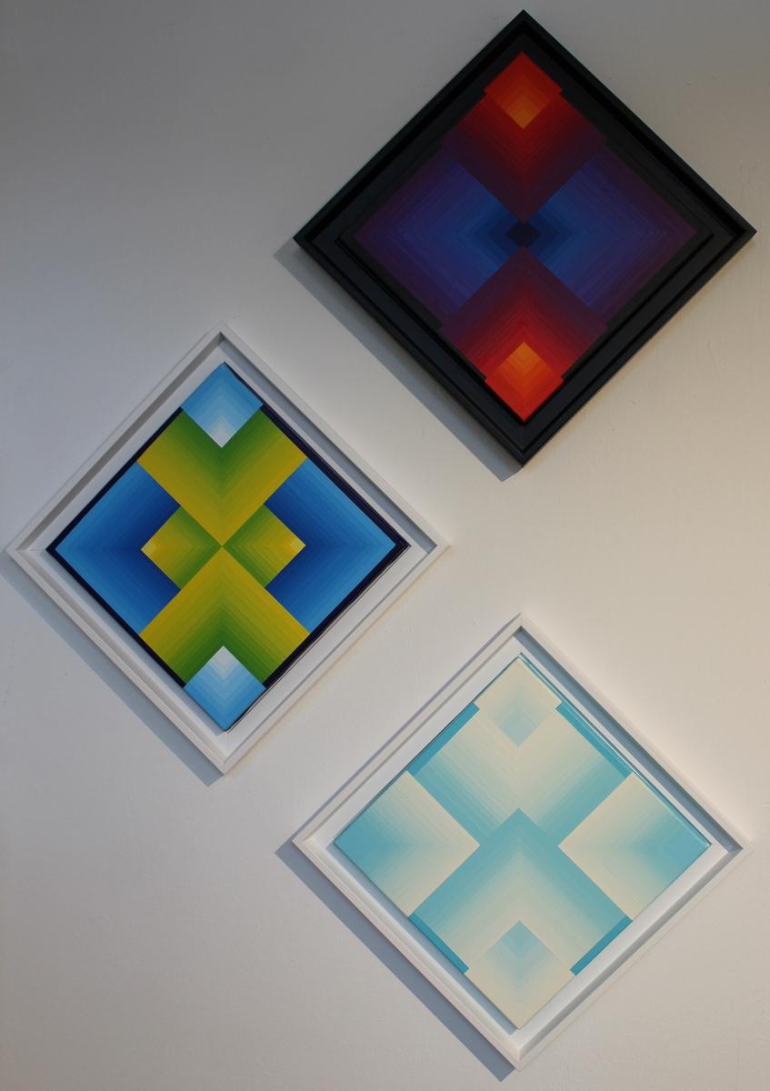 Petits formats - Acrylique sur toile 30X30 cm