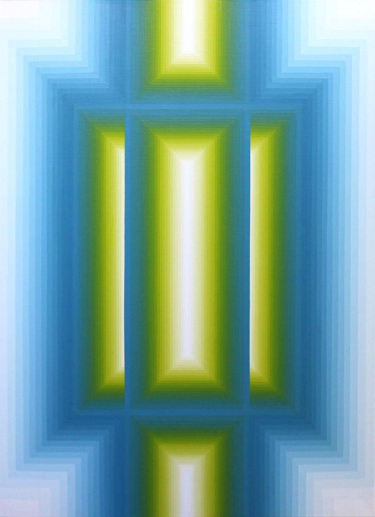 Sans Titre - Acrylique sur toile 70X100 cm