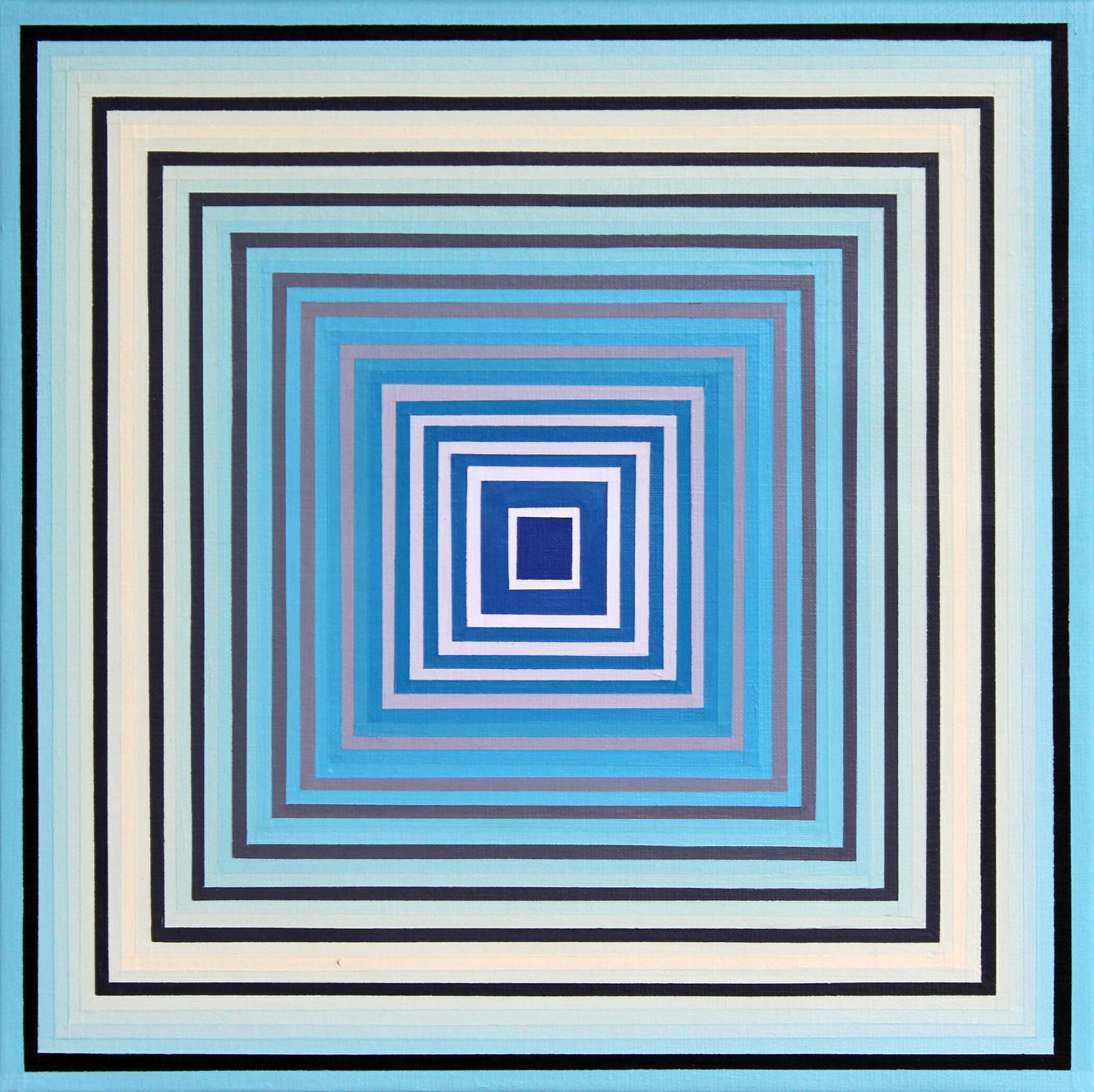 CL VII - Acrylique sur toile 40X40 cm