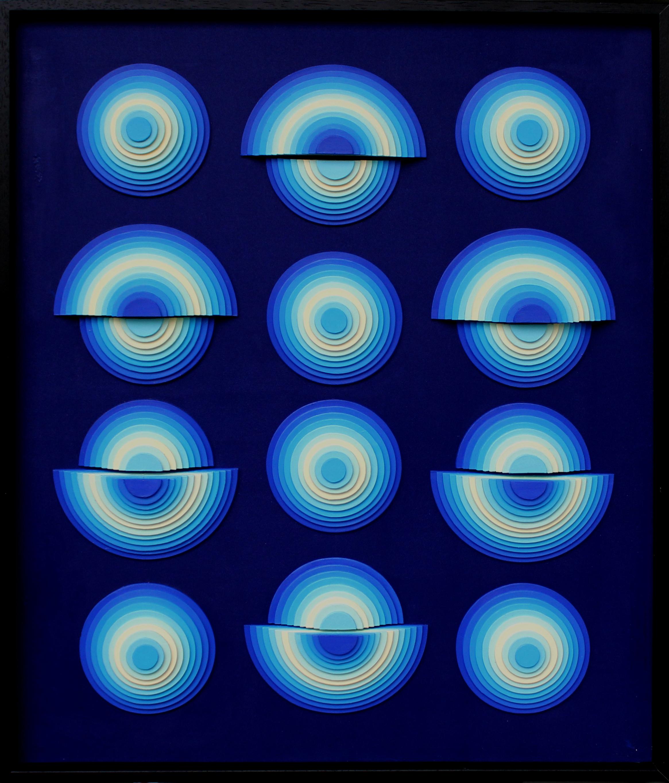 Spotlight 1 - Acrylique et carton contrecollé sur MDF, 50X60 cm