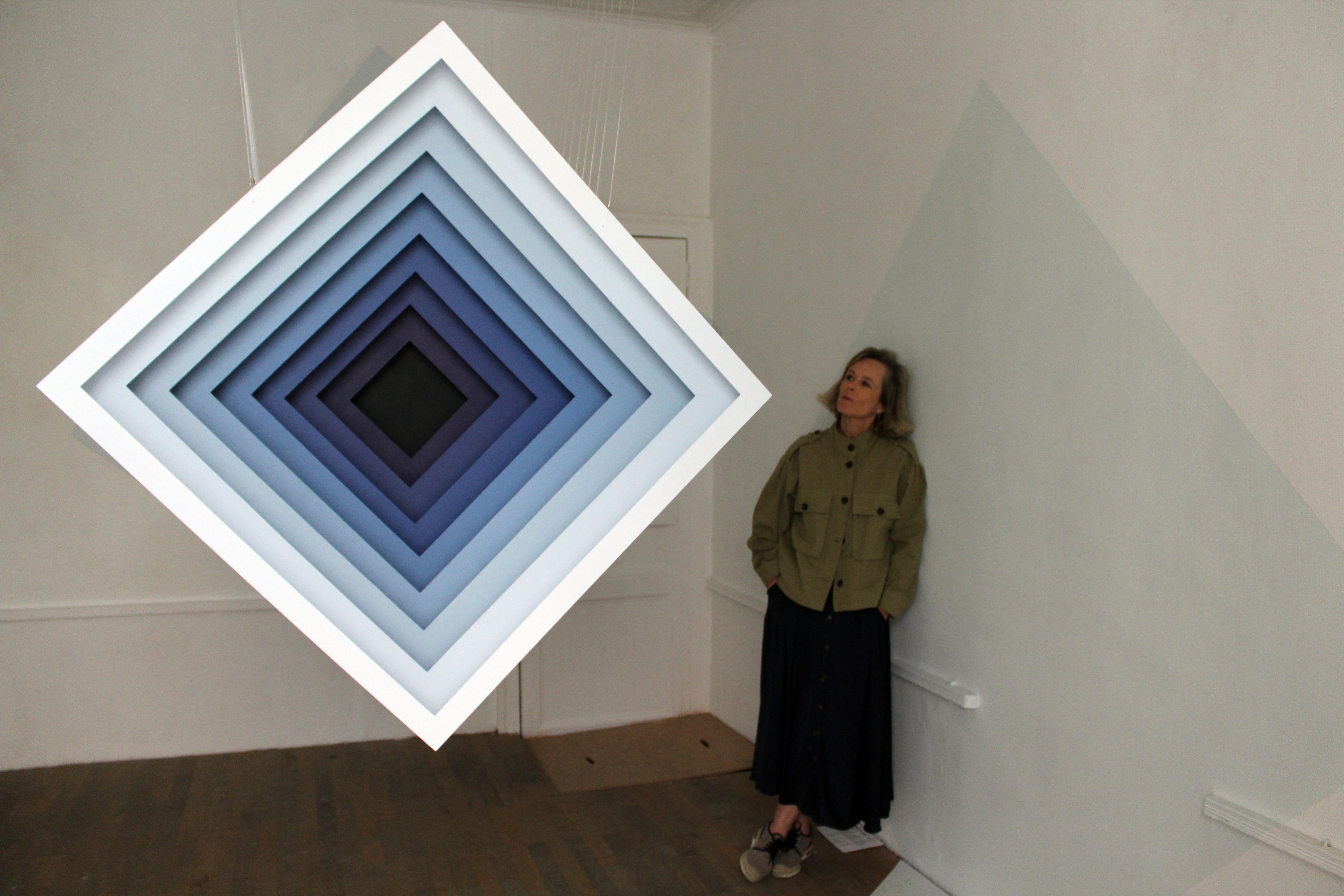 Installation mobile de 17 carrés à double entrée - 2019